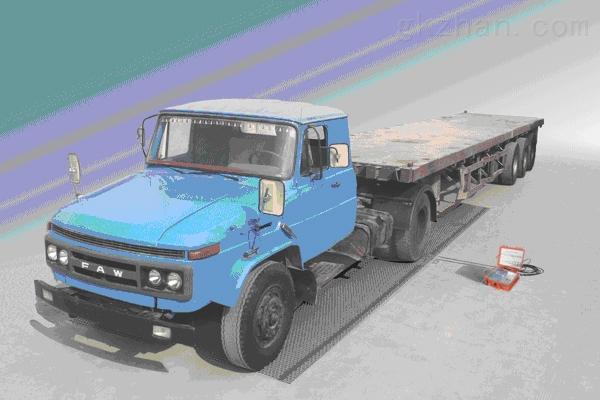 30T固定式轴重秤SCS-M1轴重秤厂家直销