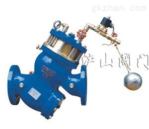 YQ98005过滤活塞式电动浮球阀-水利控制阀