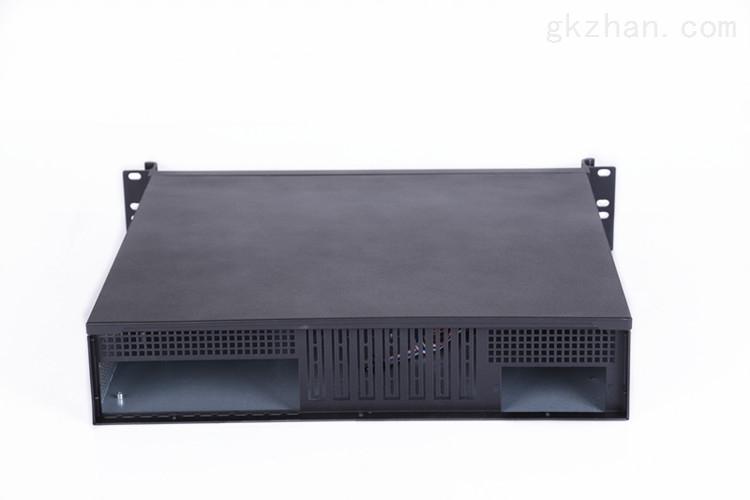 2400l-b 2u超短工业工控机箱 高档铝合金面板 结构可支持pc大主板