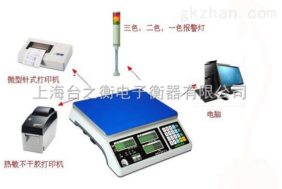 带打印桌秤 隔爆桌秤 SCS电子秤