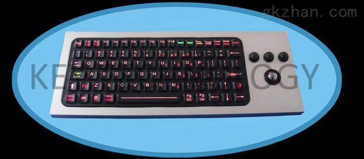 加固耐用硅胶工业键盘