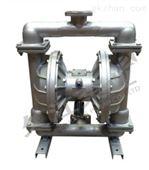 不锈钢 QBY气动隔膜泵厂家(法兰)