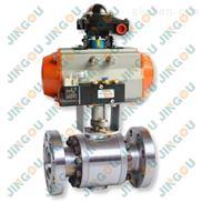 气动高压法兰球阀-CNG天然气高压球阀