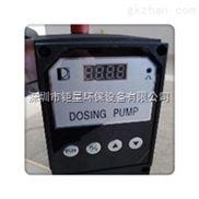 杰斯特计量泵絮凝剂加药泵液压隔膜计量泵深圳杰斯特CONC0703