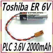 全新日本原装 TOSHIBA东芝 ER6V/3.6V PLC工控锂电池 带插头 正品