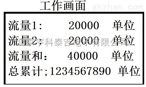 宇科泰吉YK-985LCD-X1-V24-07高精度智能七通道合一变送流量积算仪