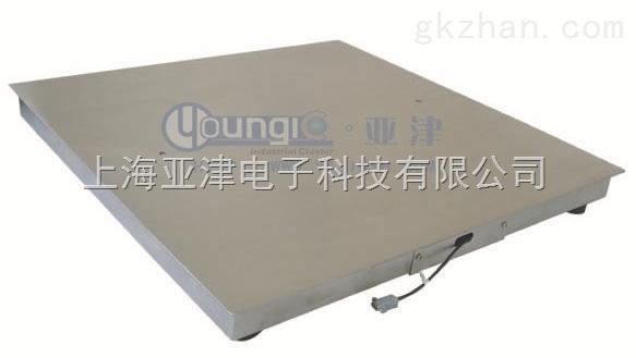 厂家直销1吨电子地磅秤叉车搬运称重1T食品行业防水秤电子称