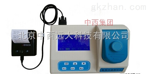 中西便携式氨氮快速测定仪 库号:M10485