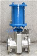 GJ641X型上海GJ641X型气动管夹阀