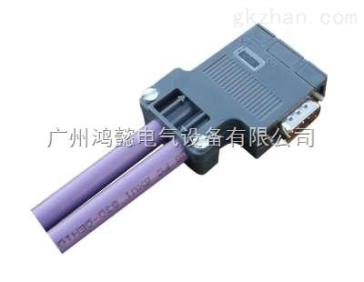 西门子1FL6伺服电机控制电缆接头