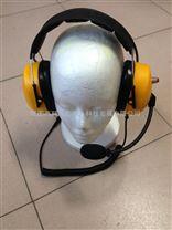 高抗噪外贸出口重型头戴式耳机航空耳机对讲机多种接口头戴式耳机
