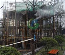 鹤壁游乐园/游乐场排队通道喷雾降温设备厂家/喷雾降温智能控制系统