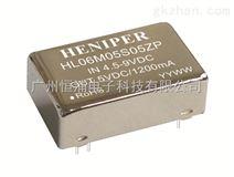 dc dc隔离电源模块,6W,宽电压输入,隔离稳压单路/双路输出