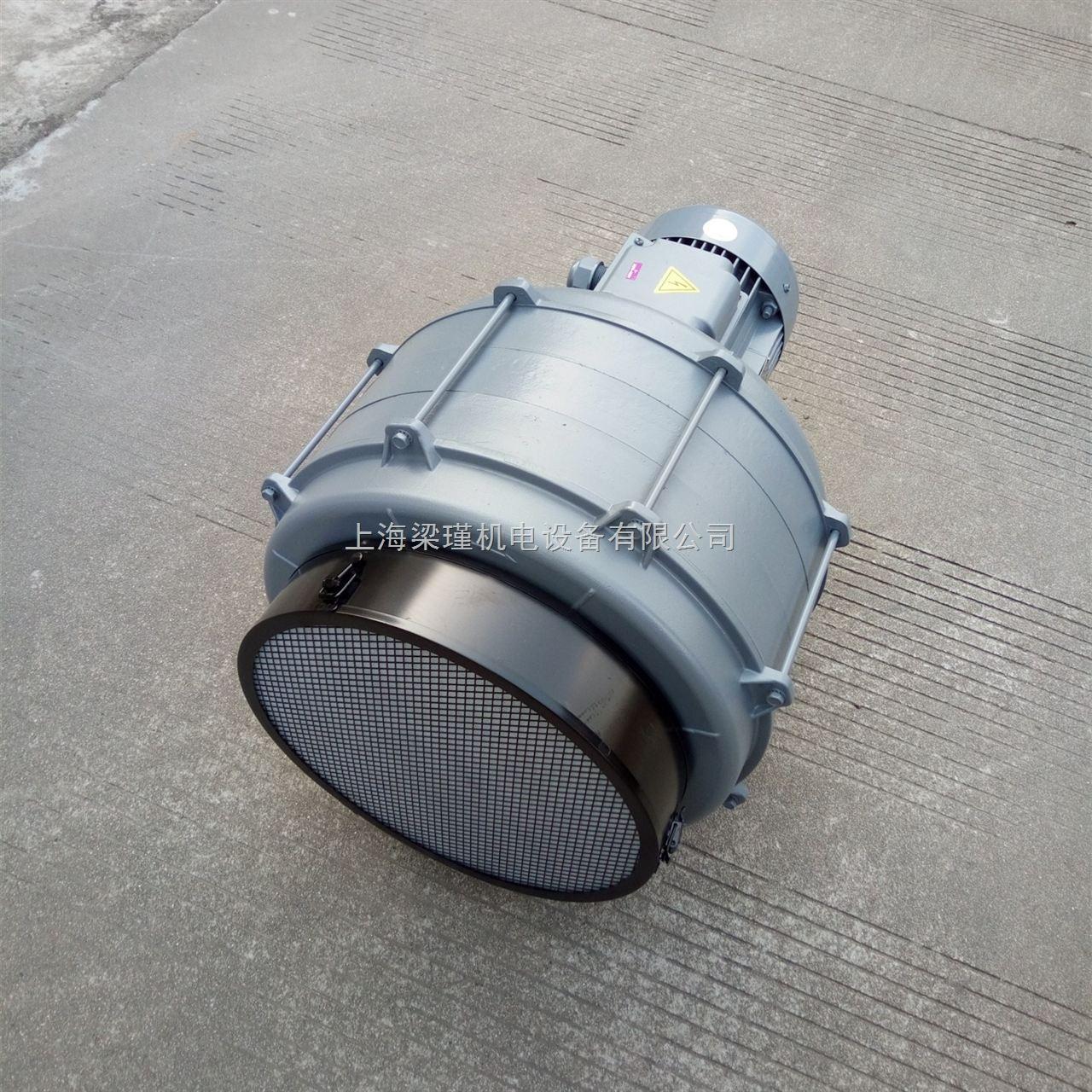 2HP透浦式鼓风机-HTB100-203多段式鼓风机厂家价格