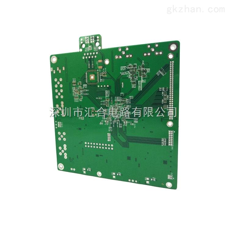 4层中TG沉金线路板 层数:4 表面处理:沉金 材料:FR4-TG150 外层线宽/线距:4/4mil 内层线宽/线距:4/4mil 板厚:1.0mm 最小孔径:0.25mm 质优/准交/价佳的pcb线路板生产厂家汇合电路说到做到 pcb电路板加工快速交货专家.小批量10平米的交期:4层板5天,6层板6天,8层板7天;小批量100平米的交期:4层板7天,6层板8天,8层板9天;已通过UL/ISO认证,符合IPC国际检验标准 网址:www.