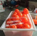 芜湖划区域警示浮漂水上30厘米塑料浮球