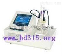 微量水分测定仪(液晶显示、自动测试打印、数据储存)BT46-WS-2200