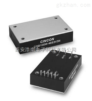 CQB100-110S系列100W 66-160VDC输入DC-DC转换器CQB100-110S24