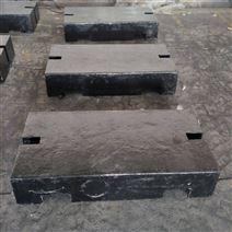 平板型500kg铸铁砝码 1吨配重砝码价格
