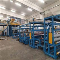 高产能5米幅宽土工排水网设备/生产线