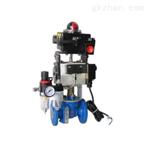 ZSHO-16C气动耐腐蚀衬氟球阀 气动切断阀