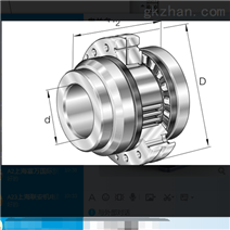 希而科 INA ZARFL 滚针/推力圆柱滚子轴承