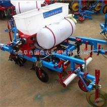农用播种施肥喷药覆膜机 多功能打药覆膜机