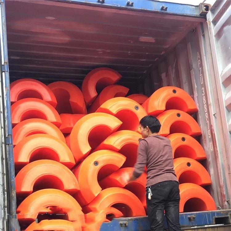 管径360mm抽沙浮筒 水库吸水管浮漂
