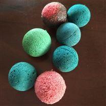 海绵 橡胶 金刚砂 剥皮 胶球生产厂家
