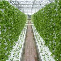 温室大棚三角立柱式基质栽培塔