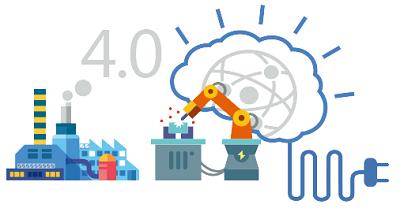制造业服务化:物联网助力下的漫画与服务业融合.工业图片