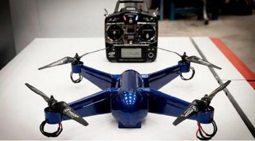 最新3D打印无人机 打印之后可直接起飞
