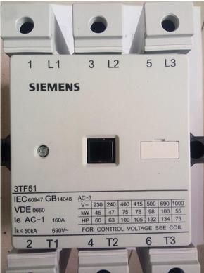 西门子系列交流接触器用于交流