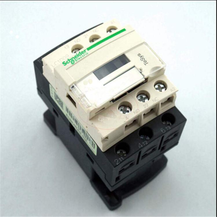 施耐德交流接触器lc1-d09