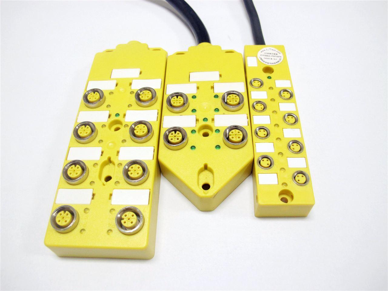 M12多接口总线分线盒