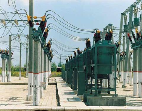 国电10kv变压器接线图
