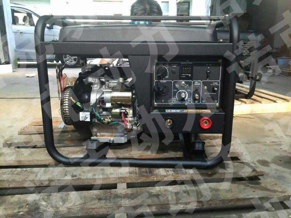 汽油发电机电焊机一体两用机