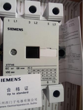 西门子交流接触器3tf4622-0xm0