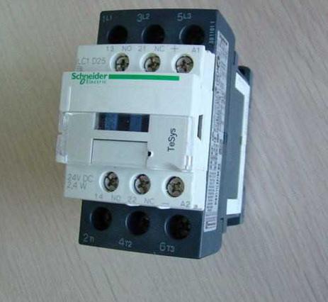 施耐德交流接触器lc1-d25