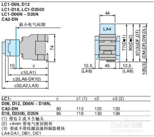 lc1-d245m7c-施耐德lc1-d245m7c交流接触器-乐清市