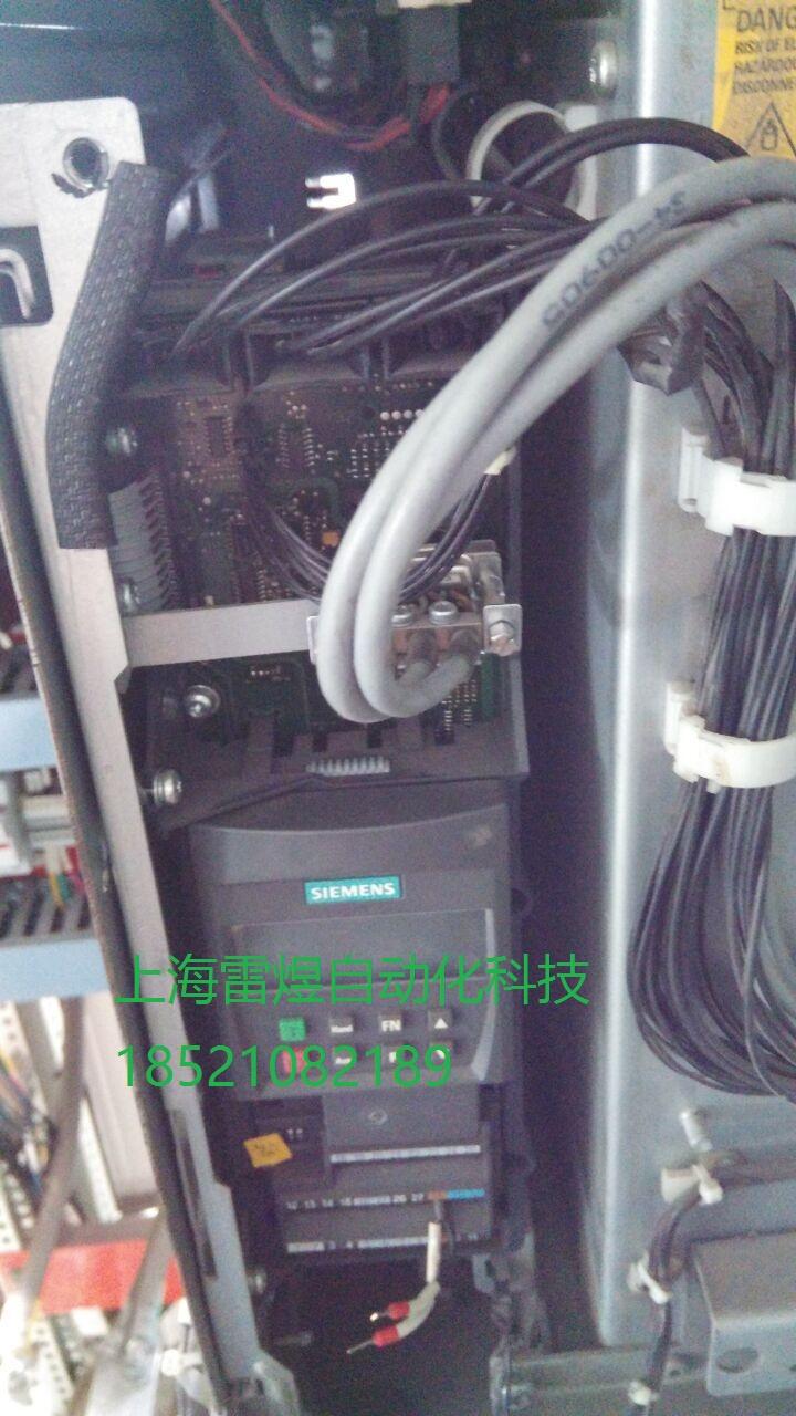 供求商机 > mm440西门子变频器维修无显示,报故障   入端子短路维修