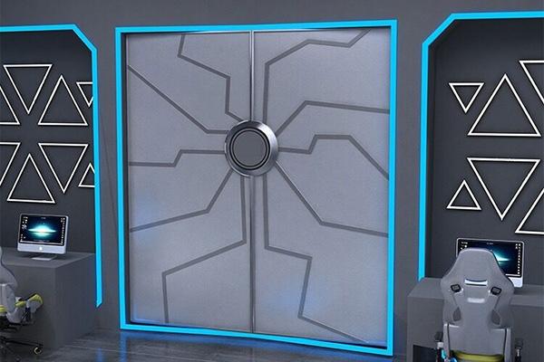 展厅科技感门
